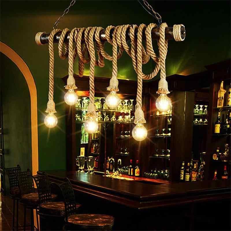 Decorative Lamp Rope Holder Vintage Electric Cord Wire 220V E27 DIY Pendant Garland String Lights Base 1m 1.5m Light Bulb Holder