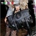 4 цвета прямая поставка леди мода сумка дизайнер мода панк-череп заклепки сумка мода all-матч женская сумочка биг-бэги H080-2