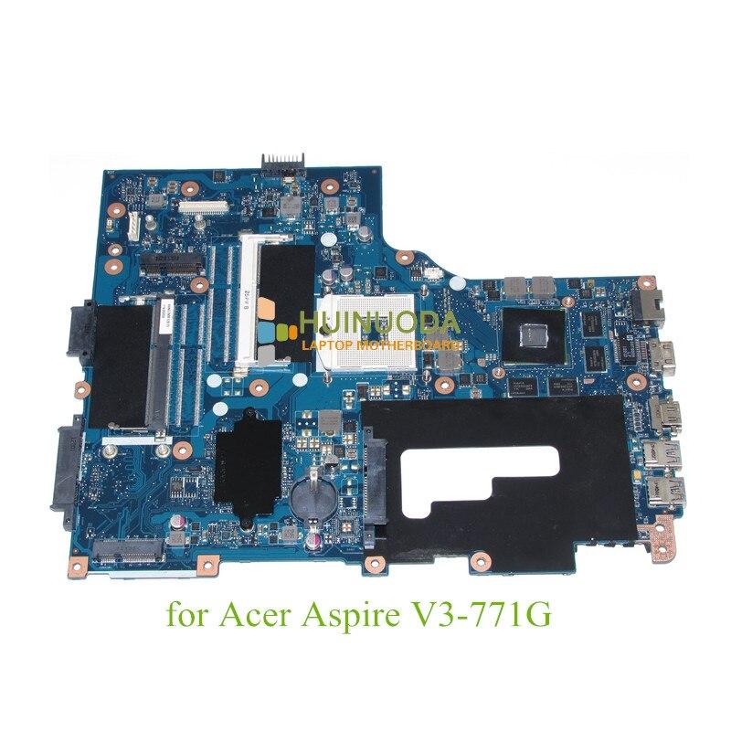 NOKOTION NB.RYP11.001 For Acer Aspire V3-771 V3-771G series motherboard Intel DDR3 With nvidia NBRYP11001 Laptop mainboard