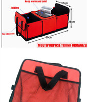 Folding Trunk Organizer For Car Car Accessories Storage Box Automotive Trunk Collection Box 600D Oxford Material
