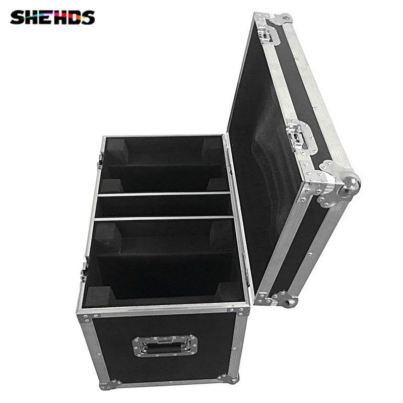 with 2 dual Flight Cases for 4 Lights LED Wash Zoom Moving Head Light 36x15W RGBWA 5IN1 DMX Stage Light Moving Heads flight volume 4
