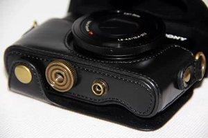 Image 3 - หนังกล้องที่ครอบคลุมกรณีกระเป๋าสำหรับSony Cyber Shot RX 100M3 RX100V M3 rx100ii DSC RX100 m3 M5 rx100 iii RX 100 iiกล้องกระเป๋า