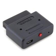 8bitdo receptor Retro Bluetooth dongle inalámbrico para SNES SFC, Compatible con los controladores de juego NES30 SFC30 NES Pro PS3 PS4 Wii U