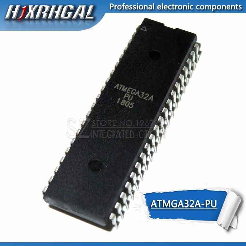 1PCS ATMEGA32A-PU MCU AVR 32K FLASH 16MHZ 40-PDIP NEW GOOD QUALITY