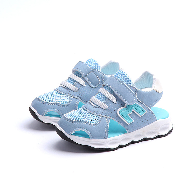 Breathable children casual shoes fashion New brand cool boys girls sandals high quality Genuine leather kids toddlers baby shoes
