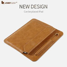 Jisoncase Shockproof Sleeve Case for iPad mini5 4 3 2 1 Microfiber Tablet For ipad 7.9 case Pencil Slot Protective mini