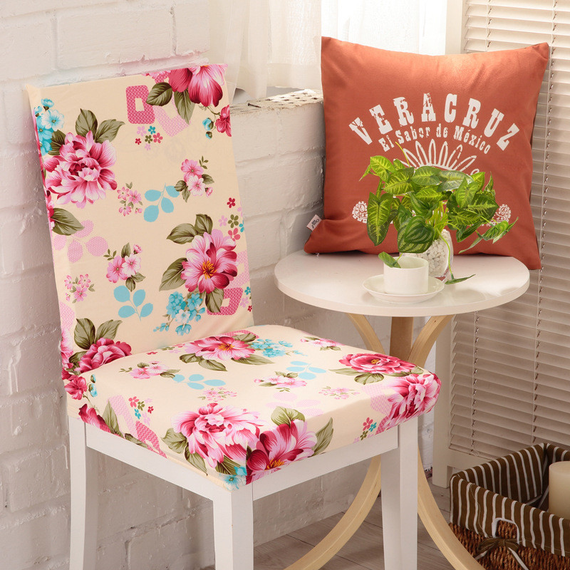 2016 Hot Sell Removable Stretch Fabric Chair Covers