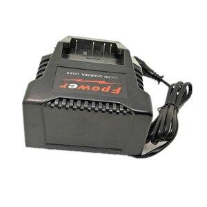 Image 2 - 1018K ליתיום סוללה מטען עבור בוש חשמל תרגיל AL1820CV 14.4V  18V ליתיום סוללה BAT618 BAT618G BAT609 2607336236