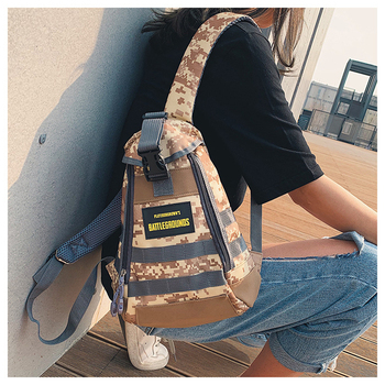 Playerunknown's Battlegrounds PUBG Cosplay Level 1 Instructor Backpack Women Men Outdoor Travel Large Capacity Knapsack Bag New - sale item Costumes & Accessories