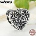 Chegada nova 925 Sterling Silver cheio de Romance Charme Beads Fit Pulseira Pandora Original Autêntico Fine Jewelry