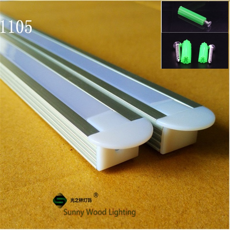 5-30pcs of 1m led aluminium profile,W22*H12mm embedded channel for 3528 5050 5630 strip ,8-11mm pcb ,embedded cabinet hard strip 5 30 pcs lot 1m aluminum profile for led strip milky transparent cover for 12mm pcb with fittings embedded led bar light