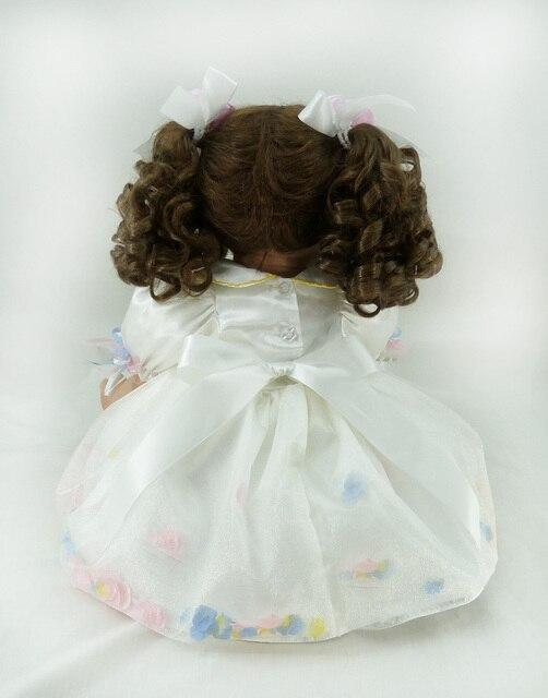 60cm Soft Silicone Vinyl Reborn Baby Doll toys lovely lifelike soft brinquedos Accompany Sleep Baby toys