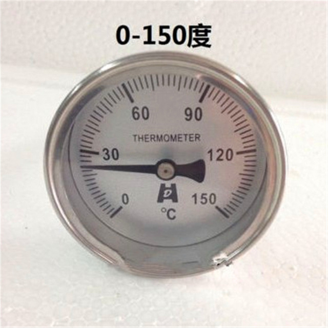 size 40 104ca 7dff2 ... WSS  1 Pc Industrial New 1 4PT Stainless Steel Bimetallic Thermometer  0-50~400 ...