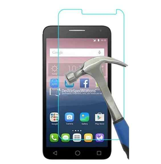 0.3mm 9H tempered glass For Alcatel One Touch Pixi4 Pixi 4 4.0 inches screen protector protective glass + free clean kits