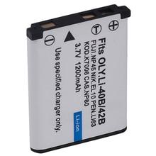 Bateria para Fuji 4X Np-45a Xp30 Finepix Z90 Jz200 Câmera Digital Np-45