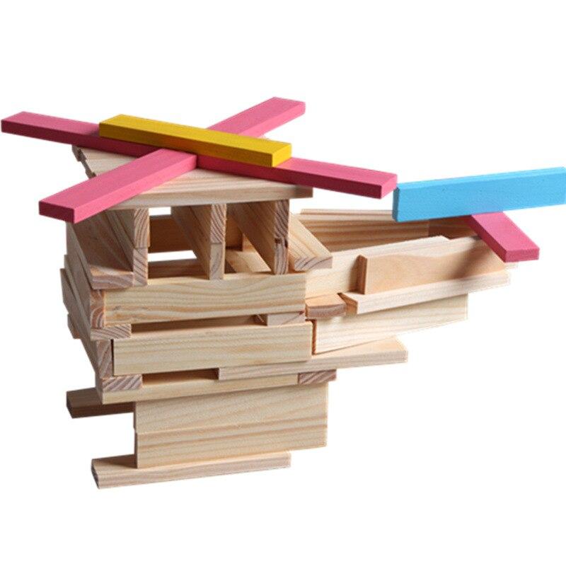 Enfants jouets éducatifs 150 pièces 3d Puzzle jouets pour enfants jeu enfants bricolage en bois jouets colorés bambin jouets 2018 cadeaux de noël