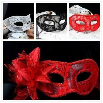 6 stile Attraente Sentirsi Sexy Delle Donne Del Merletto Nero Occhio Viso Mask Masquerade Promenade della Sfera di Halloween Festa in Costume di Nozze