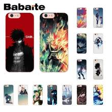 Babaite Dabi Boku No My Hero Academia Tpu Zachte Siliconen Telefoon Case Voor Iphone 5 5Sx 6 7 7 Plus 8 8Plus X Xs Max Xr 10 11pro Case(China)