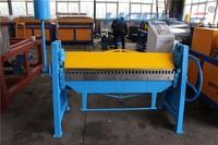 harsle Jiangsu metal manual folding machine/ steel sheet metal bender export