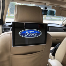 2019 Latest Car Android 7.1 System 11.8 inch Head Rest Monitors For Ford All Models Headrest DVD Player Auto 2.5D Arc Screen цена
