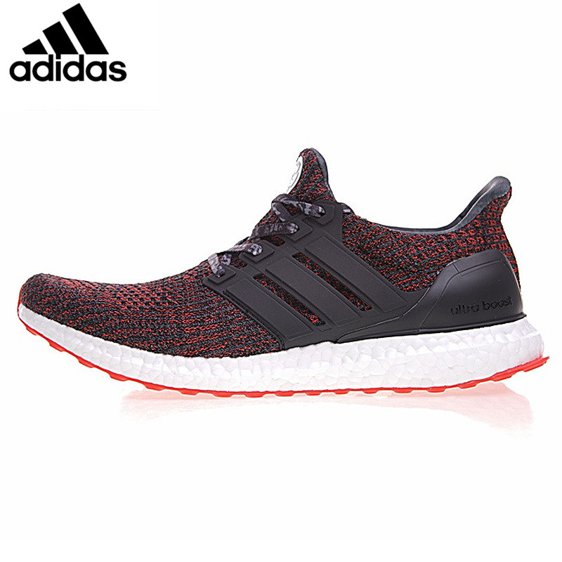 Adidas Ultra Boost 4.0 UB 4.0 Popcorn Men Running Shoes Sneakers Sports Black White for Men BB6166 40-44 adidas кроссовки ultra boost w