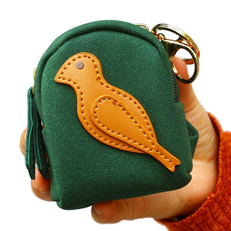 Coin Purse Women Wallets Moneybags Female Girls Gifts Cartoon Bird Purses Pocket Money Bags Mini Bag Zipper Wallet Burse Case