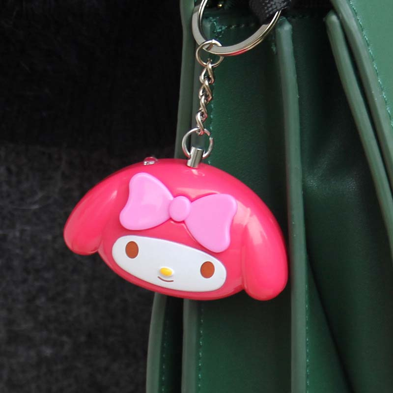 Mini Self Defense Keychain Alarm Super Loud Personal Security Anti-Attack Emergency Keyring JFlyer
