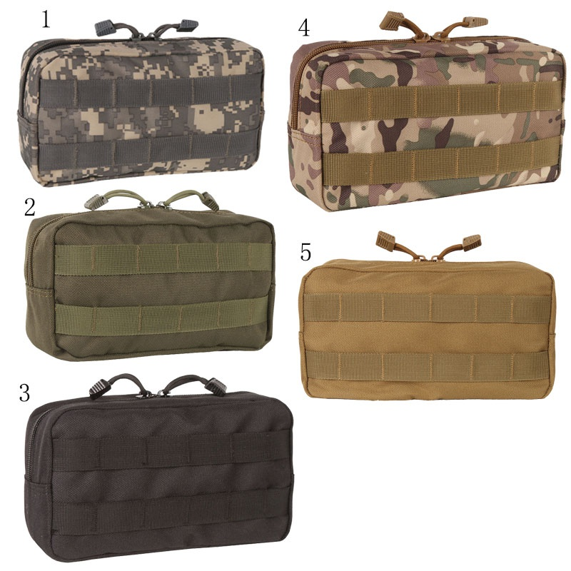 Military Tool Bag MOLLE First Aid Kit Medical Package Tactical Soft Storage Bag Outdoor Travel Bag