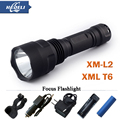 powerful led flashlight cree XML T6  XM-L2 torch Flashlight led lantern lanterna lamp Hiking Camping Waterproof flash light