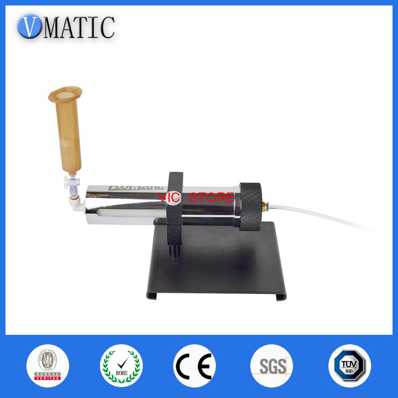 glue dispensing manually operated syringe fillers for 1/10 cartidge dispensing syringe fillers