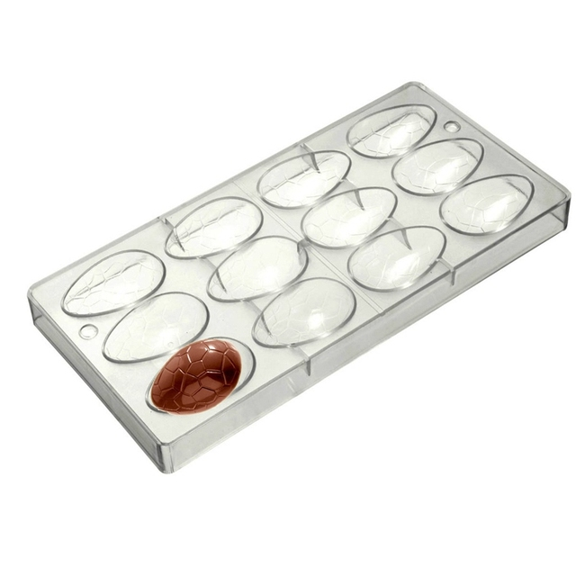 Easter Egg Professional Polycarbonate Chocolate Candy Mold Mould