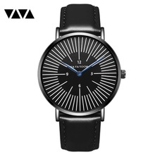 купить New Fashion Quartz Clock Top Brand Luxury Business Watch Men Waterproof Business Date Tungsten Mens Watches Relogio Masculino по цене 634.38 рублей