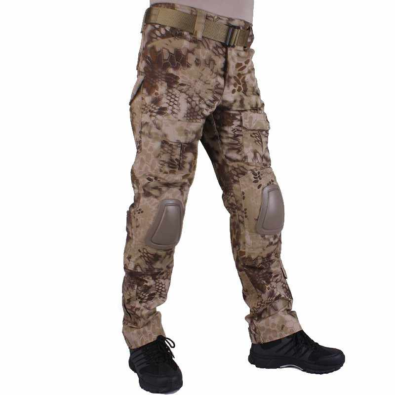 3a374dc6ee3c8 ... Kryptek Highlander Camouflage G2 Army BDU Pants Military Tactical  Combat Pants Men Battlefield Airsoft Sniper Hunting ...