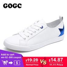 GOGC di Marca Morbido E Pulito Sneakers Traspirante Donne di Estate Scarpe  con Star Lace up 3f5156bfb9e