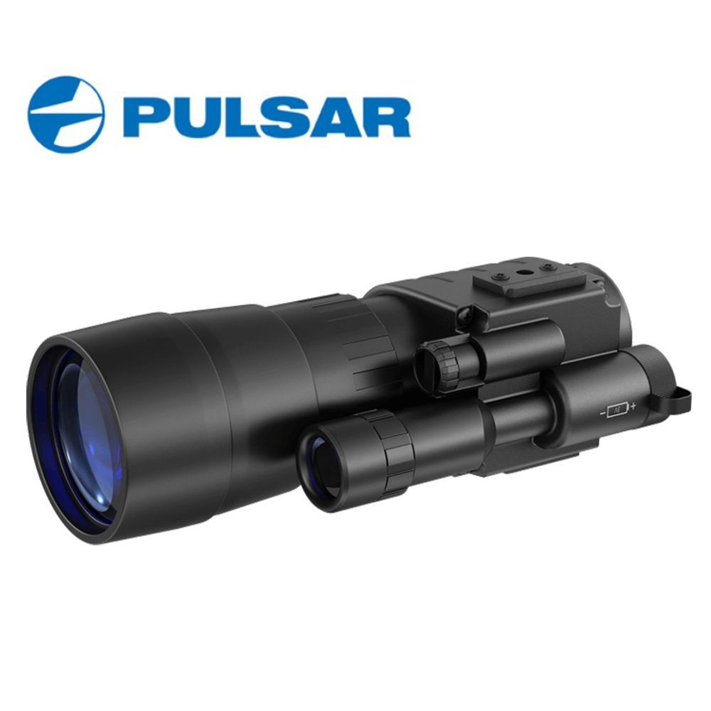 PULSAR Challenger GS 3.5x50 Nightvision Scope Hunting Monocular Night Visions Fit Head Mount Built-in IR-illuminator #74097 original belarus yukon 29032 nvmt head mount night vision head mount monocular head mount with two screws free shipping