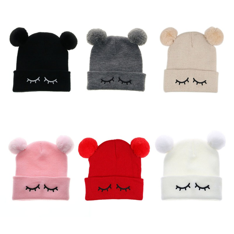 Hats & Caps Accessories 2018 Baby Caps Girls Winter Cartoon Cute Warm Winter Baby Hats Cotton Baby Caps Newborn Warm Fashion Girl Hat Curing Cough And Facilitating Expectoration And Relieving Hoarseness