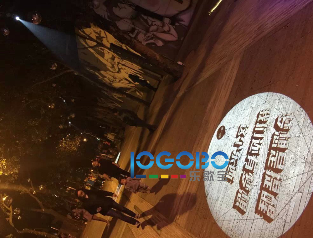 New Logo TR-Luca-100 gobo projector-9
