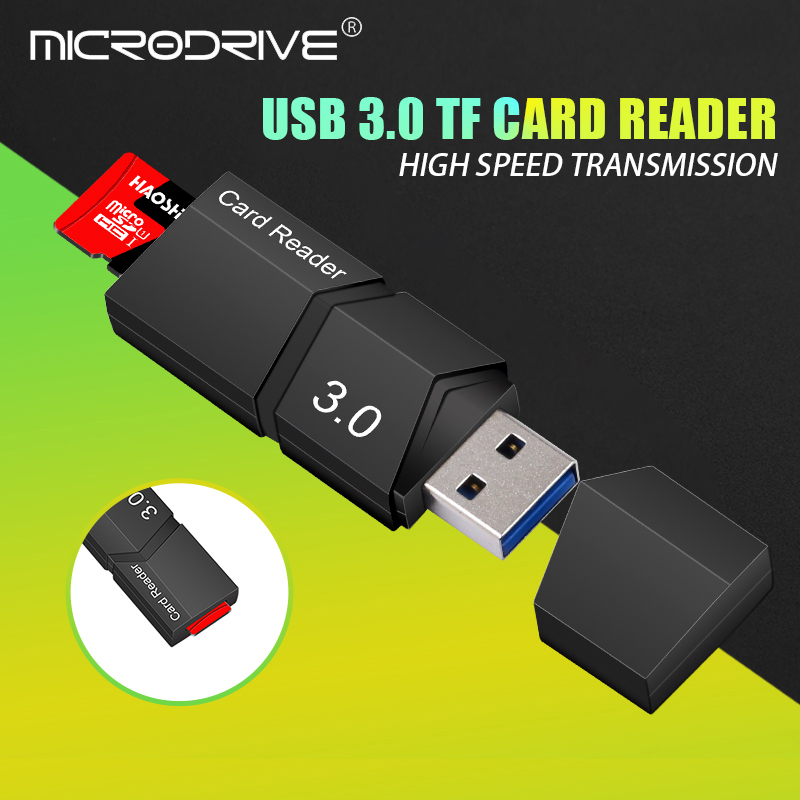 Microdrive Card Reader Usb 3.0 Micro Sd/tf Card Reader High Speed Smart  Usb 3.0 Card Reader Micro Sd Memory Card Free Shipping