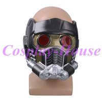 Cos Guardians of the Galaxy Helmet Cosplay Peter Quill Helmet Star Lord Helmet Party Mask PVC For Adults Halloween