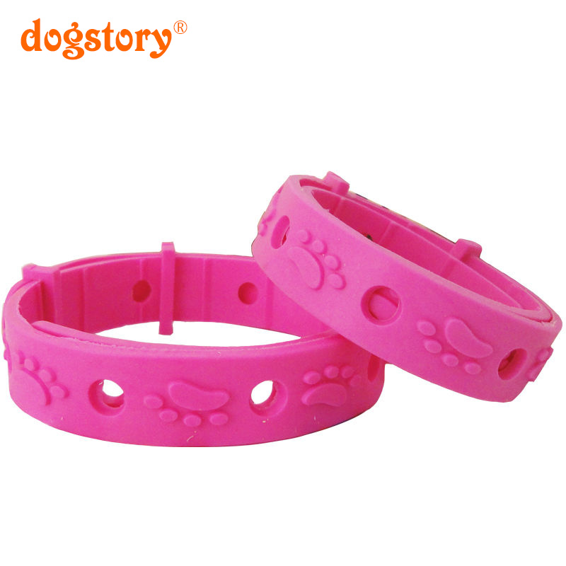 2 Pieces/Dogstory Fashion Rose Red Dog Collar Prevention Of Fleas Adjustable Pet Cat Dog Collar Pet Products Wholesale Sales