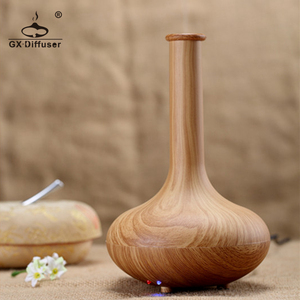 Image 5 - GX. Diffusor Licht Holz 160ml Ultraschall Nebel Maker Luftbefeuchter Ätherisches Öl Diffusor Aroma Diffusor Aromatherapie Haushalt