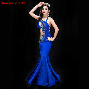 New Performance Belly Dance Elegant Diamond dress Girl Dress Dresses Belly Dancing Belly Dance Costumes Dance Costume - DISCOUNT ITEM  10% OFF All Category