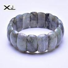 Natural Flash Stone Bracelet Jewelry Handmade Beads Mans Bracelets Creative Gifts