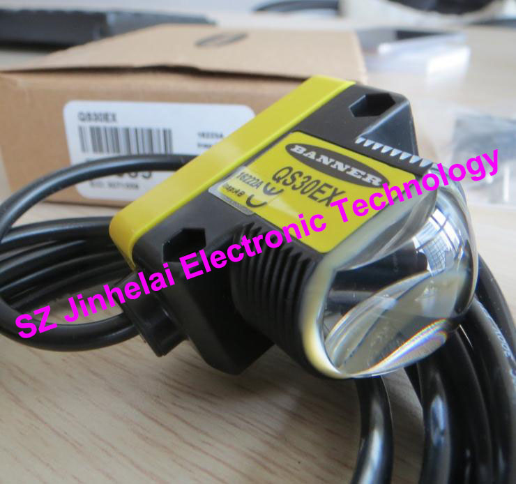 QS30EX+QS30ARX  New and original BANNER Photoelectric switch, Photoelectric sensor e3x da21 s photoelectric switch