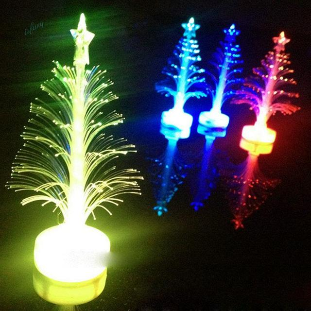christmas tree supplies colorful led light xmas tree home shop party display decoration lamp wholesale