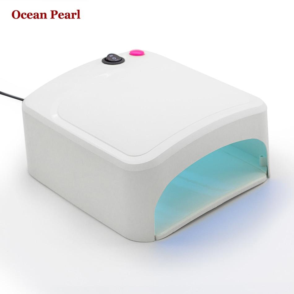 Ocean Pearl Ccfl Uv Lamp Nail Dryer 36w Uv Lamp Nail Gel