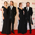 Black Chiffon bandage dress new arrival women elegant vestidos de festa vestido longo celebrity dresses red carpet