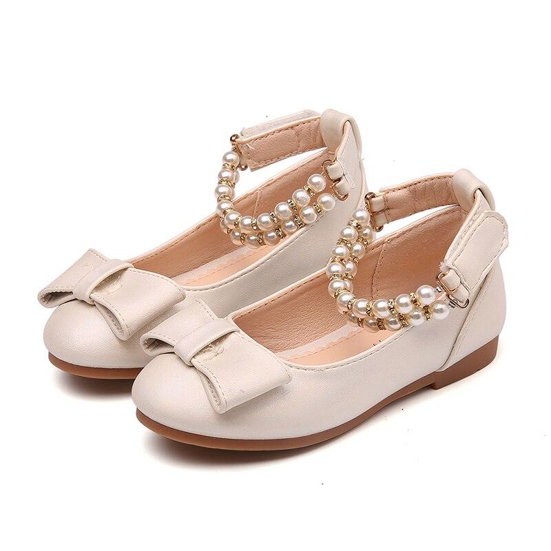 Alicorn Girls Glitter Casual Bowknot Mary Jane Flats