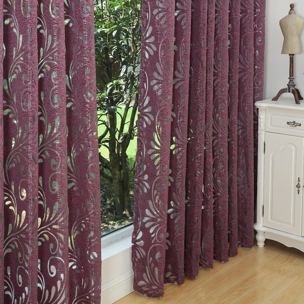 mltiples colores ready made cortinas semi opacas ciegos tela de panel para ventana cortinas de