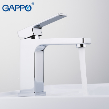GAPPO Basin Faucet Water Tap Faucet  for Bathroom Solid Brass Chrome Single Handle Waterfall Sink Tap Mixer 1